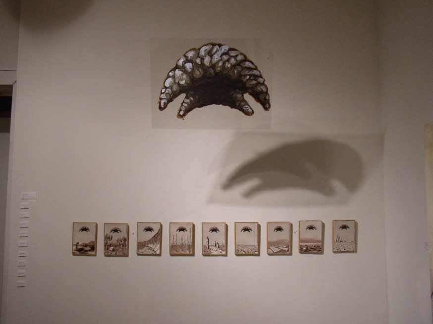 Being Towards, Installed at Asterisk Gallery, July 2009