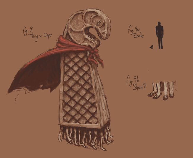 Thing with Cape
