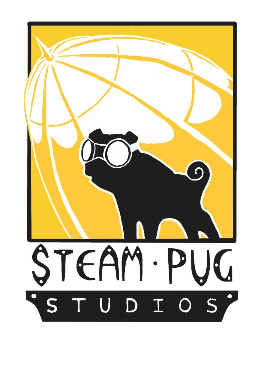 Steam Pug Studios Logo