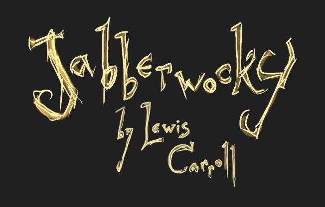 Jabberwocky title