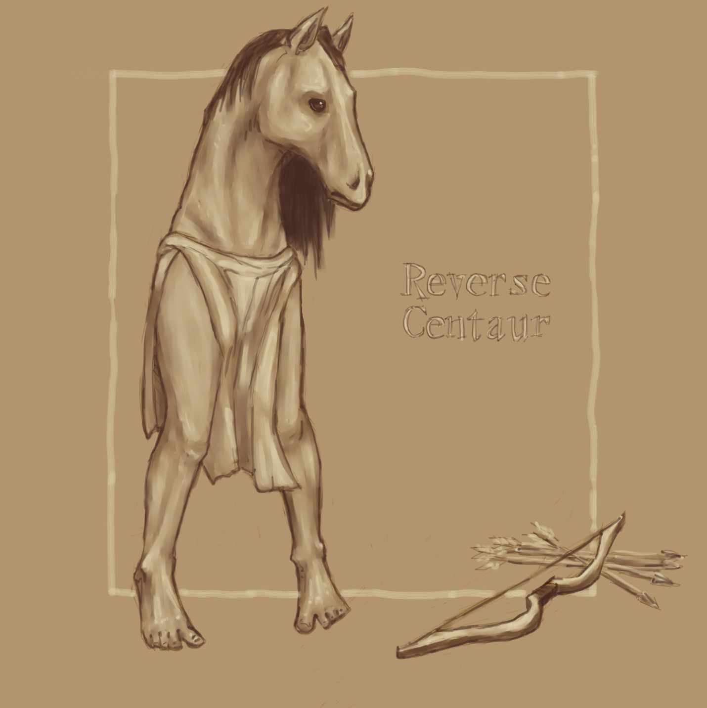 Sex drawings centaur