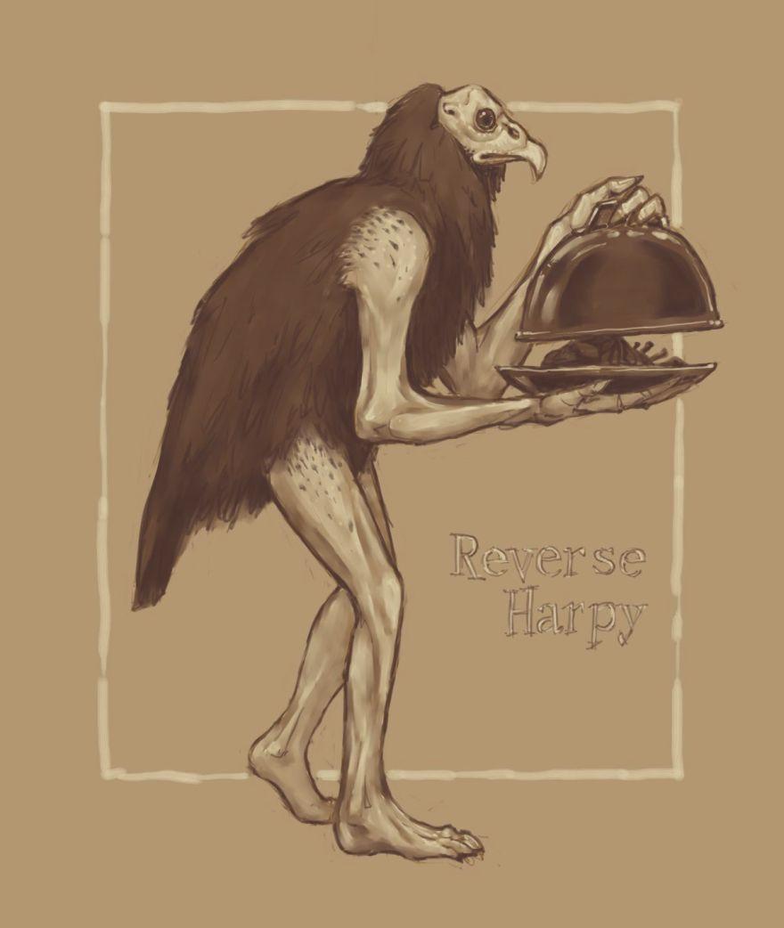 Reverse Harpy
